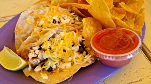 Lulu's fish tacos