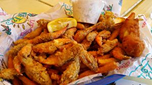 Lulu's fried crab claws