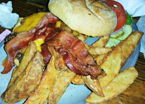 McGuire's burger