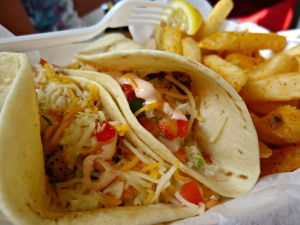 Stewby's fish tacos