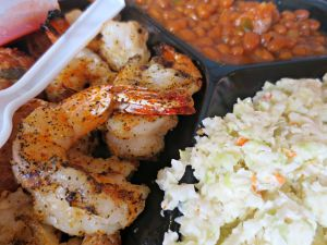 Stewby's grilled shrimp