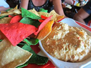 Surf Hut crab dip