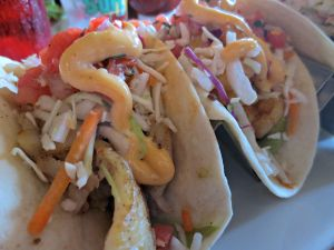 Surf Hut fish tacos