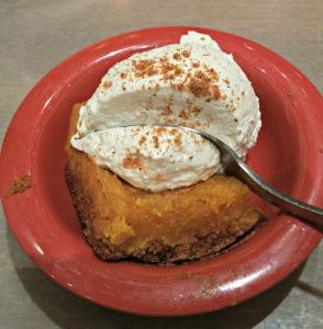 PD pumpkin cake