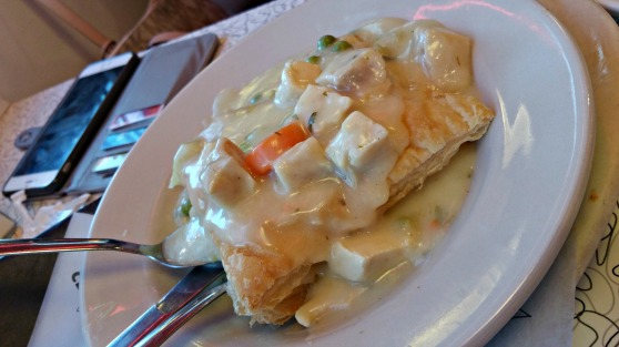 MD chicken pot pie