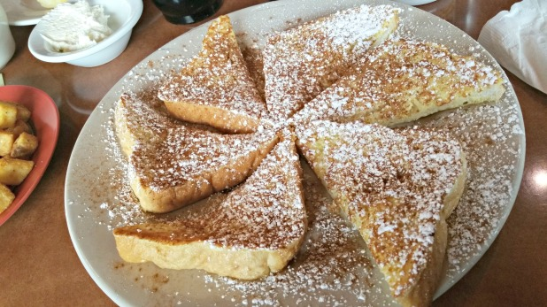 Sawyer's french toast