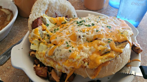 Asiago's Big Breakfast Bowl